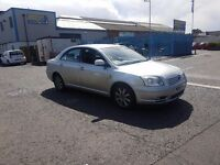 2004 TOYOTA AVENSIS 2.0 D4D SALOON HAS BRAND NEW CLUTH FLYWHEEL