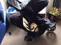 Phil And Teds Dot Pushchair Double Twin Buggy in Great Condition