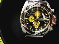 mens FESTINA ltd editon chronograph watch boxed links tools stunning quality