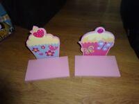 Cupcake shelves