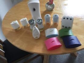 Various air freshner units