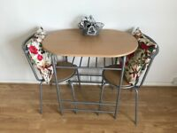 Small Table and Chairs x 2 Available