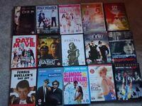 Job Lot of Various Genre dvds