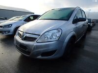 Vauxhall Zafira Life 08 plate 38000 miles breaking for spares.