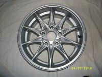 Set of BMW alloy wheels