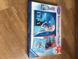Disney Frozen puzzle/ jigsaw