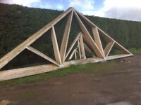 Roof Trusses 11 Of 9 mtr span x 35 degree pitch
