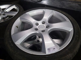 Vauxhall Antara 20 inch irmscher alloy wheels plus Tyres