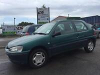 2000 PEUGEOT 106 *DIESEL* NEW 12 MONTH MOT *LOW MILEAGE 60K* CAMBELT REPLACED