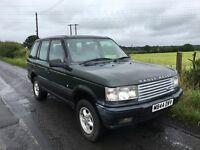 For sale / diesel 1995 Range Rover bmw running gear