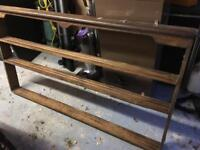Large antique plate rack possible shabby chic?