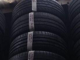 225/40/18 branded part worn tyres