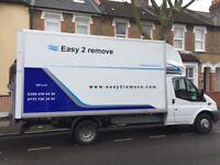 Man and van in London Big Luton van