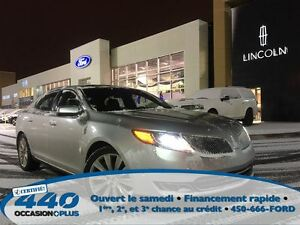 2014 Lincoln MKS ECO*Cuir,Toit ouvrant,Navigation*