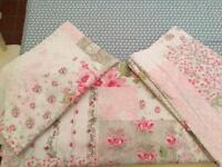 Cath Kidston style Vintage floral bedset-king size