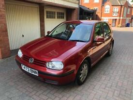 Volkswagen vw golf 1.6 petrol 5door 89k full service history and 2 keys!