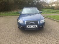 2007 Audi A6 Avant 2.0 TDI SE 5dr (CVT), 1 formed keeper.