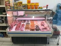 Serve Over Counter Display Fridge. Meat & Cake Fit. Koxka 133cm 2 Doors. Good Conditions. London TW3