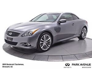 2014 Infiniti Q60 **PREMIER EDITION**CUIR ROUGE**SYSTEME BOSE**
