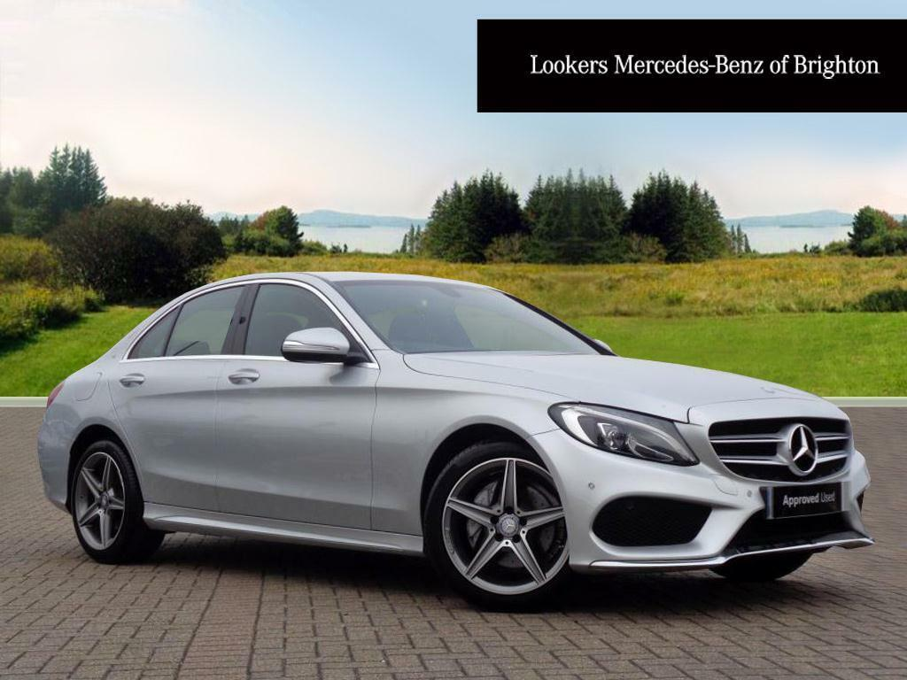 mercedes benz c class c200 amg line silver 2015 03 02 in portslade east sussex gumtree. Black Bedroom Furniture Sets. Home Design Ideas
