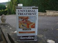 BARRETTINE WOOD PERSERATIVE & WOOD WORM TREATMENT