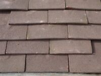 Clay Plain Roof Tiles. 1 1/2 'Tile-and-a-Halfs'.