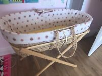 New Born Mosses basket, in very good condition