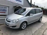 VAUXHALL ZAFIA ELITE 1.9 CDTI 150 FULL LEATHER £2895