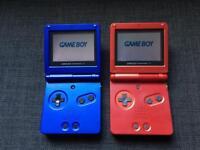Nintendo GameBoy Advance SP Consoles