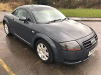 Awesome 2005 Audi TT Coupe 1.8T 180 BHP Unusual Colour 115000 Mile HPI Clear Black Leather Clean Car