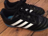 Adidas boys football turf boots - size 3 - excellent condition