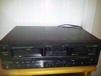 Technics rs-tr265 double cassette tape deck