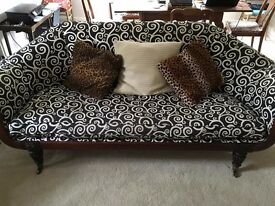 Stunning sofa- William IV Rosewood 19th century for sale- REDUCED