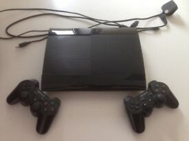 PlayStation 3 , Slimline 120GB, black perfect for Christmas