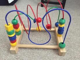 Ikea mula bead track