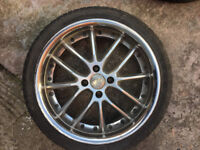"VW corrado golf jetta Lupo passat Volkswagen polo scirocco up Alloy wheels 17"" inch alloys wheel"