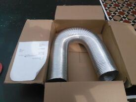 Aluminium Air Ducting 135 mm / 80cm - 2.5m