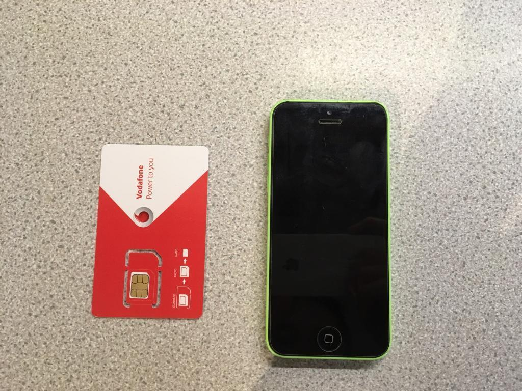 iPhone 5c 8gb (Vodafone)