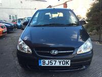 Hyundai Getz 1.1 GSi - 2007, 1 Lady Owner, 12 Months MOT, Full History, Cambelt Change, 2 Keys £1195