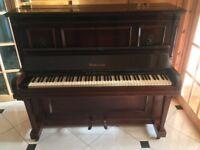 Ritzmar Metal Frame Overstrung Victorian Piano