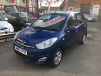 Hyundia i10 1.2 Active *** ONLY 62,000 MILES! *** 12 MONTHS WARRANTY! ***