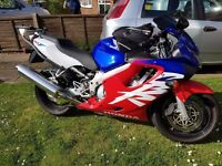 Honda CBR600F-4 (2000) 8793 Miles, excellent condition, well looked after - 6 months MOT