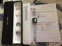 Apple Watch 42mm Series 2 Nike + White Sport Band