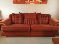 2 x 4 seat sofas