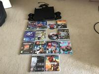 PlayStation 3 256 Gb and games , good condition