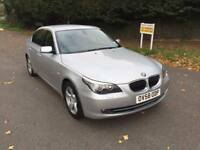 BMW 525 SE 2008 AUTOMATIC NEW SHAPE. SAT NAV. FULL LEATHER. ONLY DONE 49k FROM NEW.