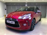 CITROEN DS3 1.6 E-HDI AIRDREAM DSPORT PLUS 3d 111 BHP FREE DELIVERY TO YOUR DOOR (red) 2013