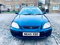 Honda civic 12 month mot 12 month tax low mileage last owner for 17 years £495