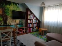 Swap 1 bed 2nd floor flat for 2 bed house/flat (up to £5000 will be given for the right property)