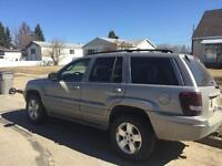 2002 grand Cherokee - $3700